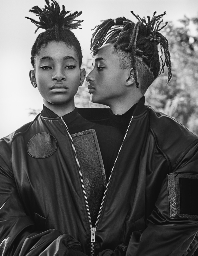 Siblings Willow and Jaden Smith rock natural braided hairstyles