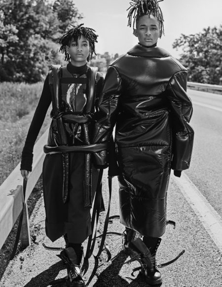 Willow & Jaden Smith Wear Cutting Edge Style for Interview Magazine
