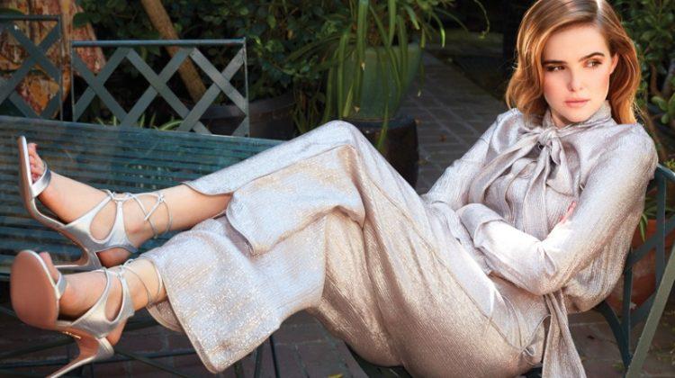 Zoey Deutch Stars in harper by Harper's BAZAAR, Talks Beauty Routine