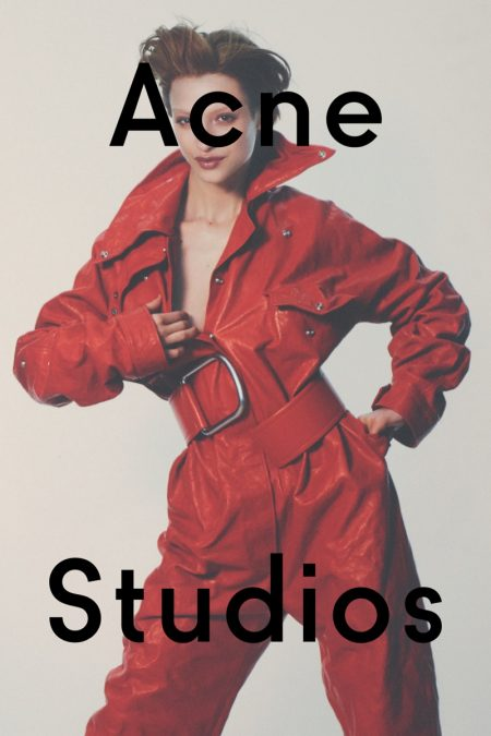 Acne Studios' Fall Campaign Takes the Editorial Approach