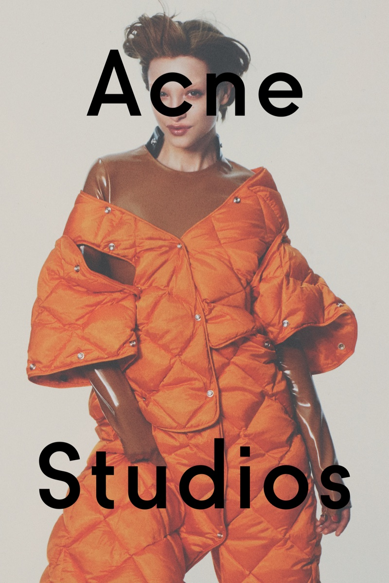 David Sims photographs Acne Studios fall 2016 advertising campaign