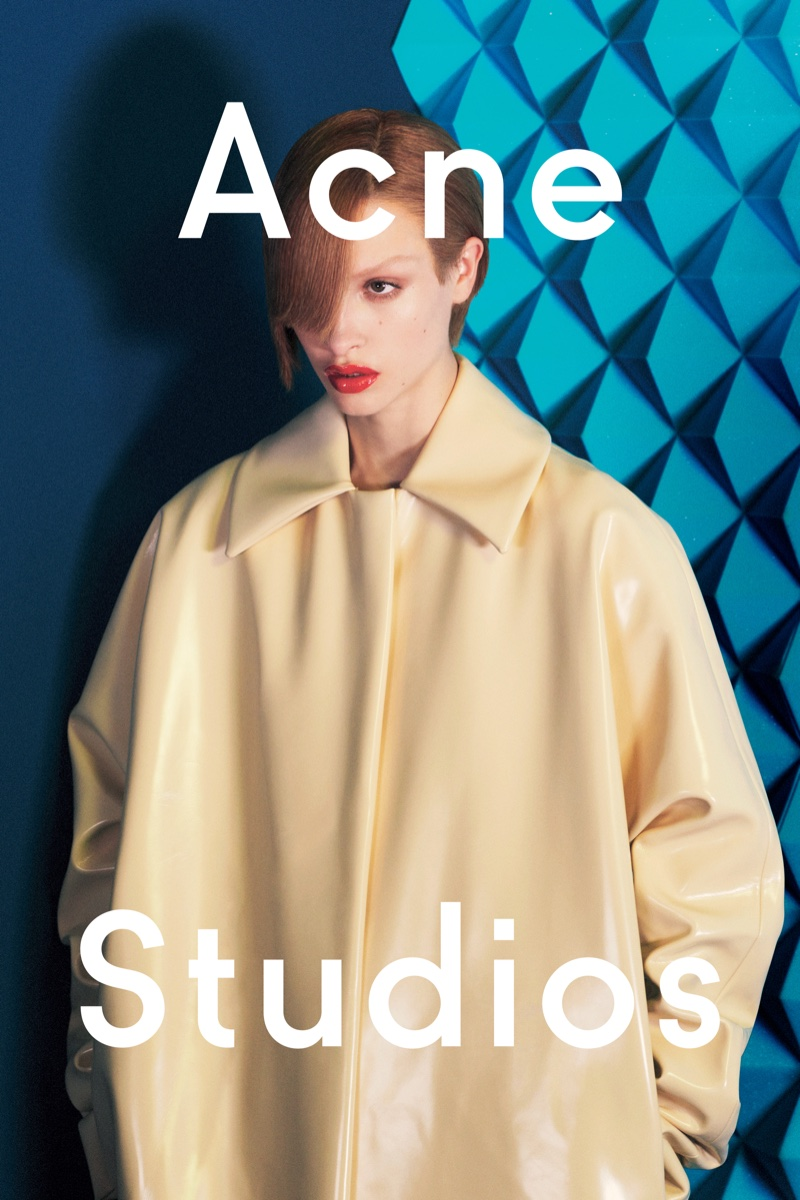 Acne Studios focuses on bold shapes for fall 2016
