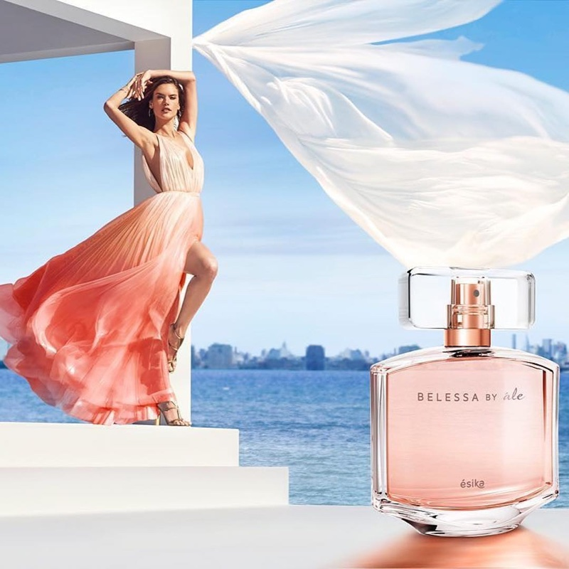 Alessandra Ambrosio stars in Belessa by Ále fragrance campaign