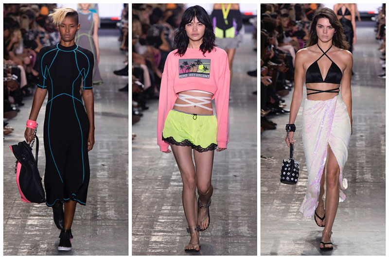 Alexander Wang Celebrates Surf Style for Spring 2017