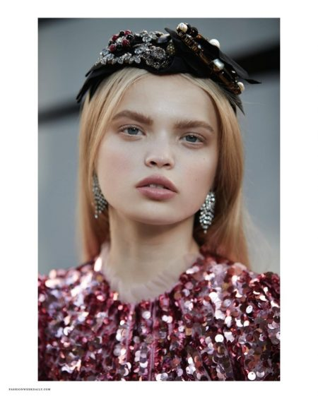 Nastya Siten is 'Alice in Fashionland' for The Daily Summer