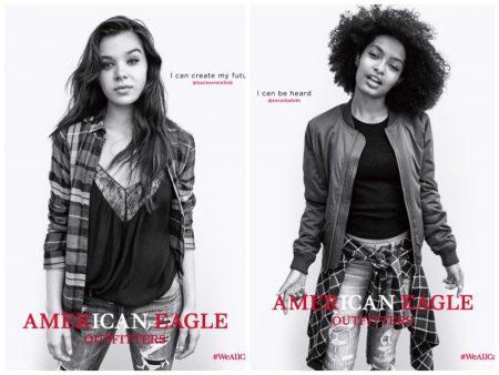 Hailee Steinfeld, Yara Shahidi Star in American Eagle Outfitters' #WeAllCan Campaign