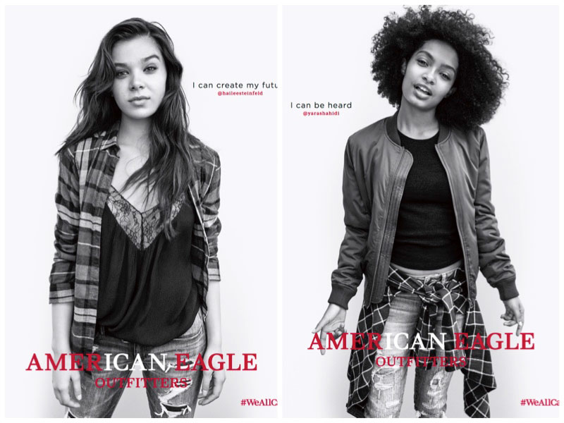 Hailee Steinfeld, Yara Shahidi Star in American Eagle Outfitters' #WeAllCan Campaign