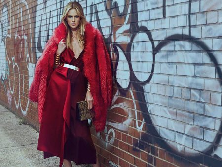 Anne Vyalitsyna Has Us Seeing Red in Vogue Portugal Spread