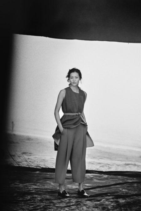 Liu Wen, Liya Kebede Star in Giorgio Armani's 'New Normal' Campaign