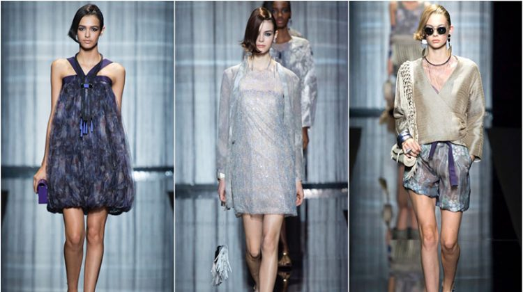 Armani Turns Up the Charm for Spring 2017
