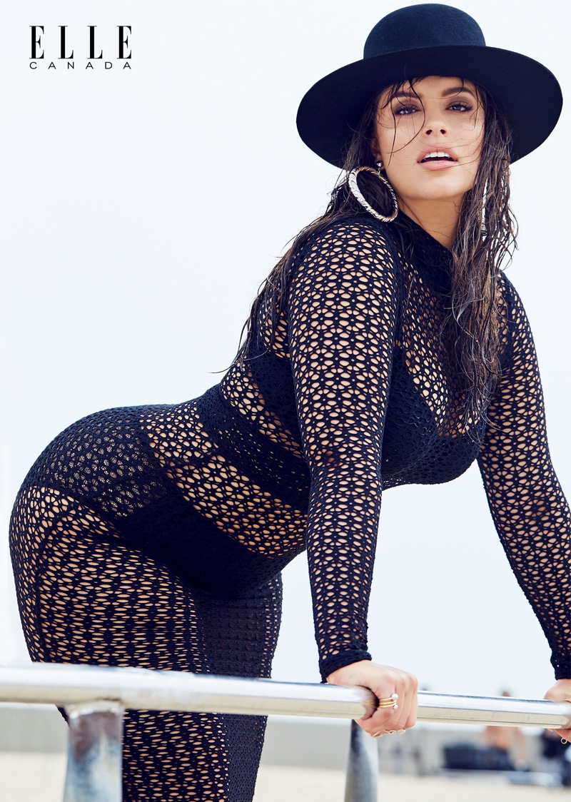 Ashley Graham Flaunts Her Curves in ELLE Canada Feature