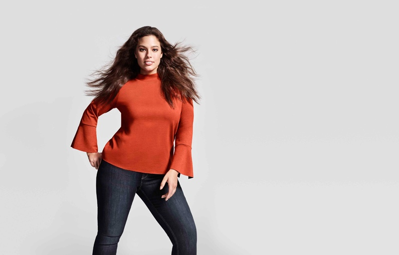 Ashley Graham stars in Lindex's Fall Fashion Heroes 2016 campaign