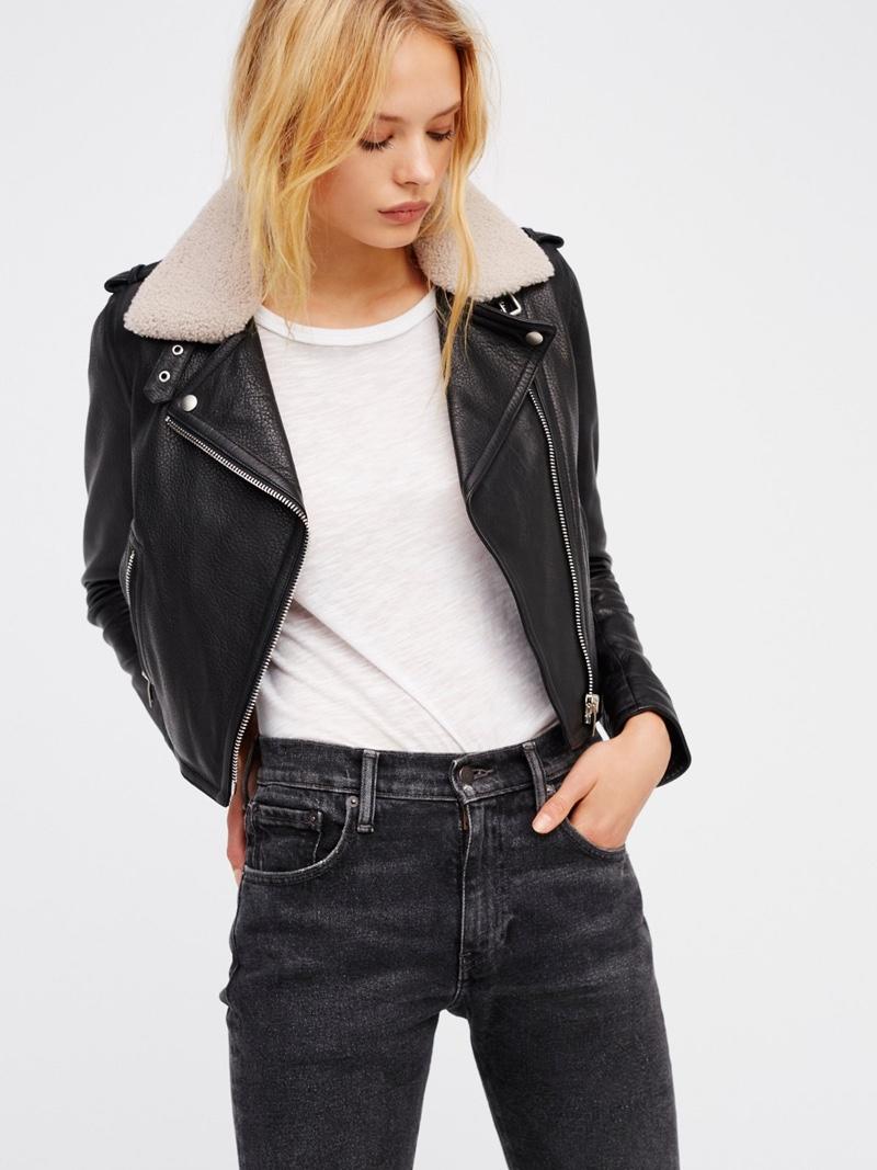 DOMA Aviator Leather Jacket