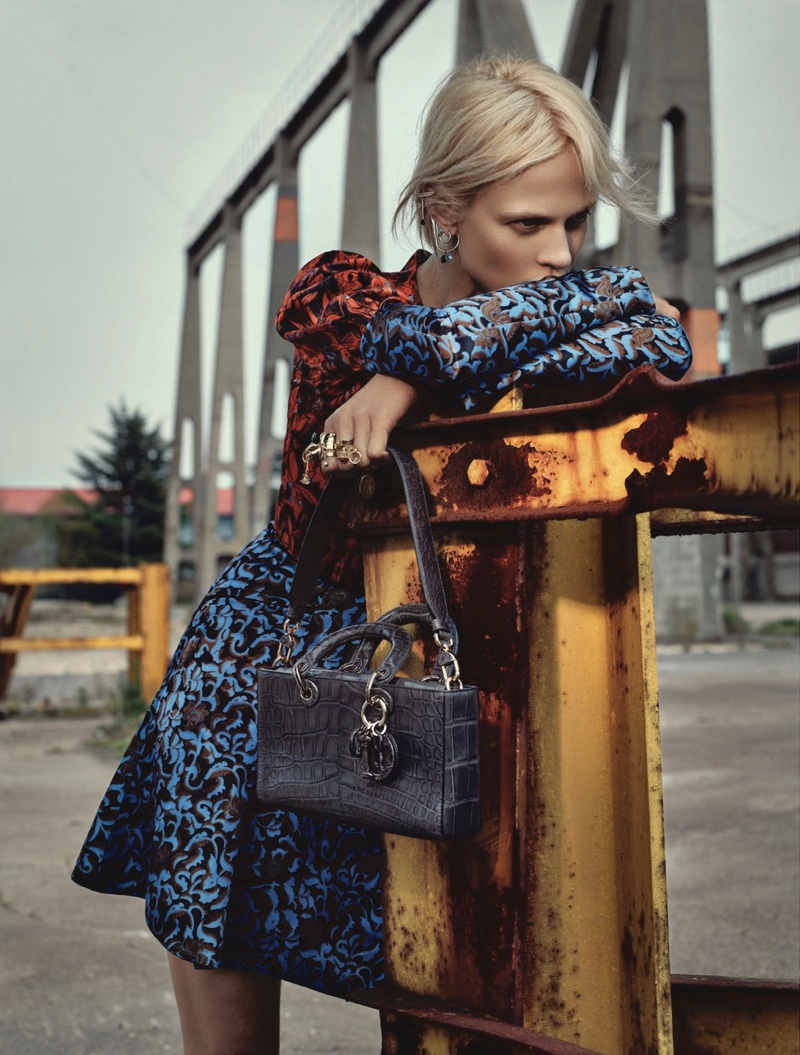 Aymeline Valade stars in Dior Magazine's fall-winter issue