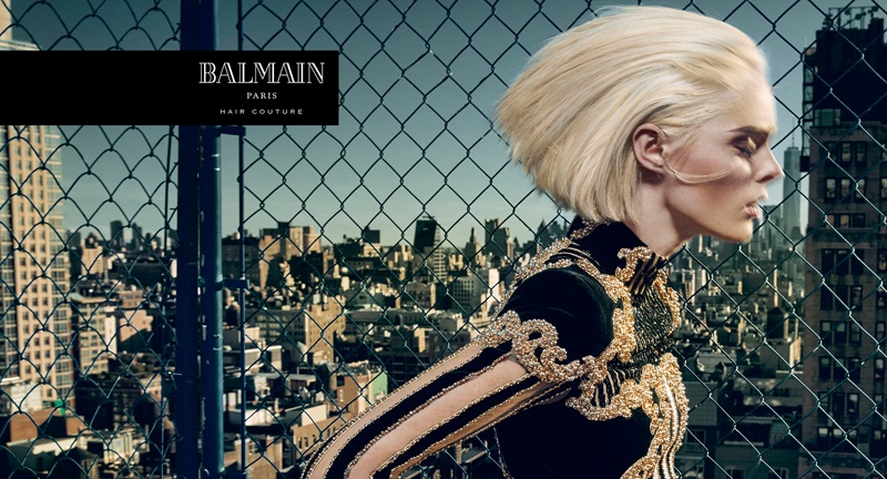 Coco Rocha stars in Balmain Hair Couture Icons campaign
