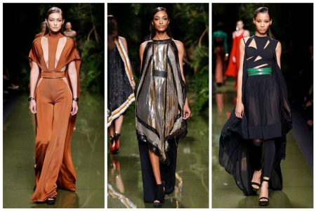 Balmain Shows Off Its Softer Side for Spring 2017