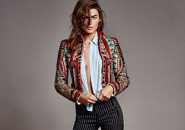 Bambi Northwood-Blyth Poses in Cool Girl Looks for TELVA