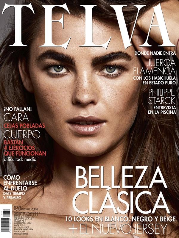 Bambi Northwood-Blyth on Telva Magazine October 2016 Cover