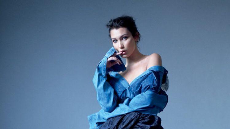 Bella Hadid Looks Elegant in Miu Miu for Harper's Bazaar Russia