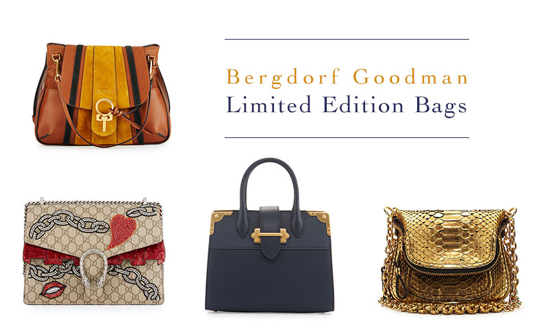 Just landed: Bergdorf Goodman unveils limited edition designer handbags