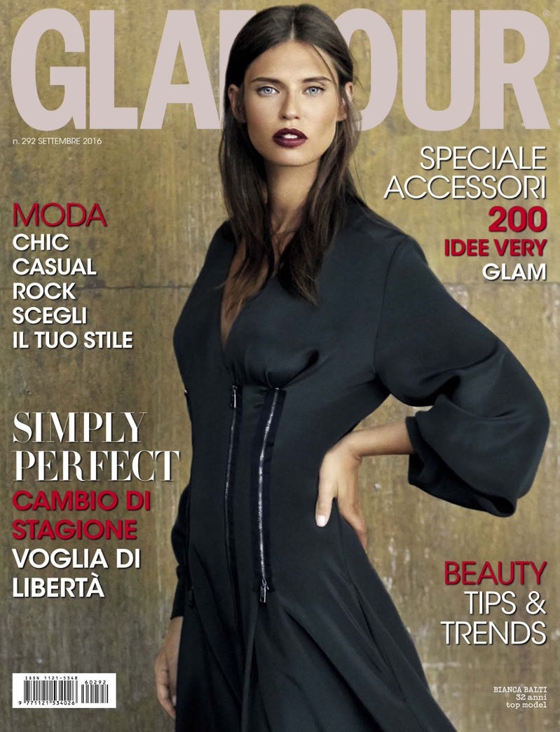 Bianca Balti on Glamour Italy September 2016 Cover