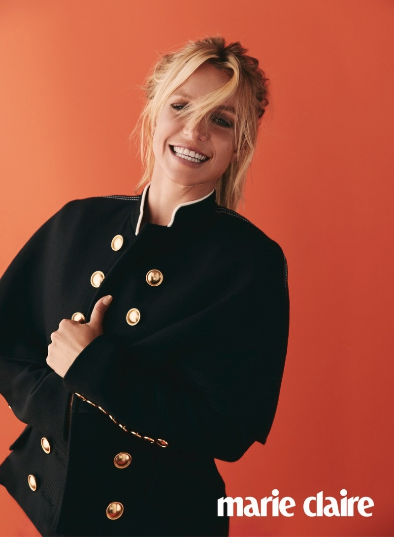 Britney Spears Stars in Marie Claire UK, Talks Going on Bad Dates