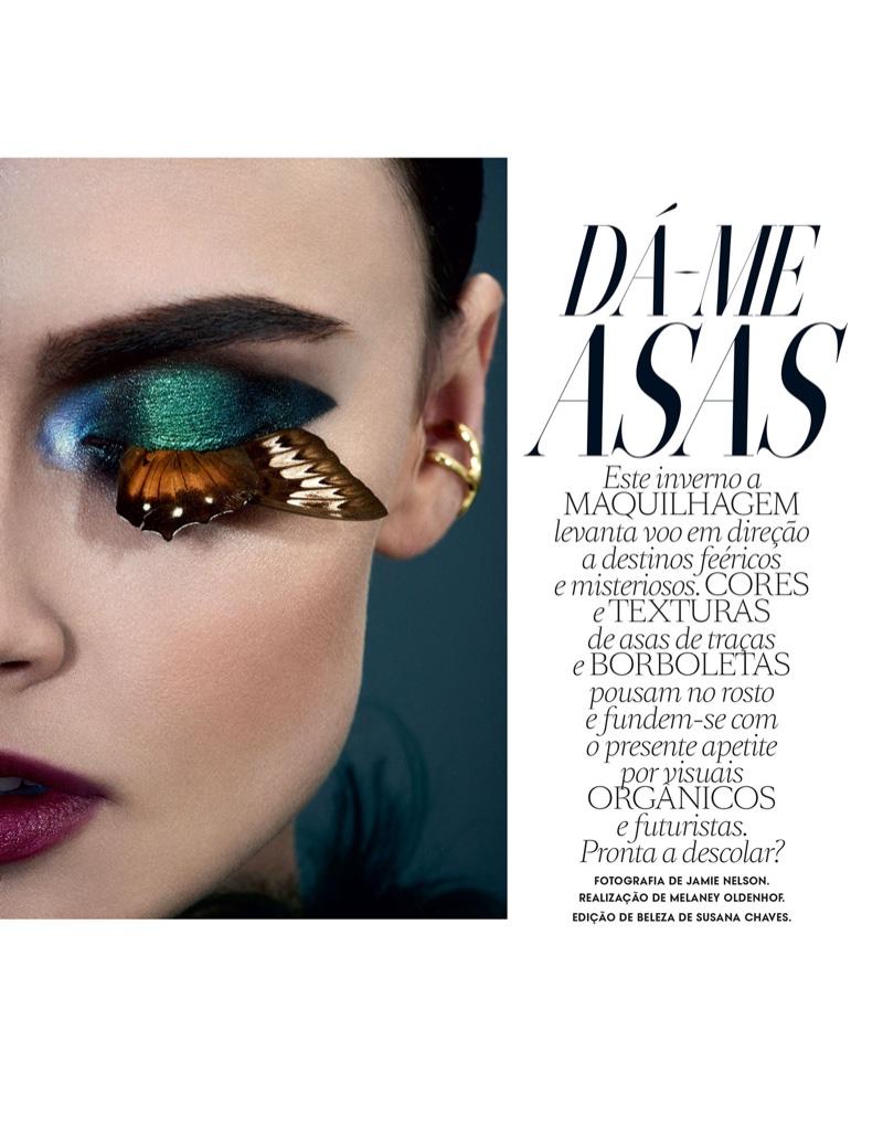 Zuzana Gregorova stars in Vogue Portugal's September issue