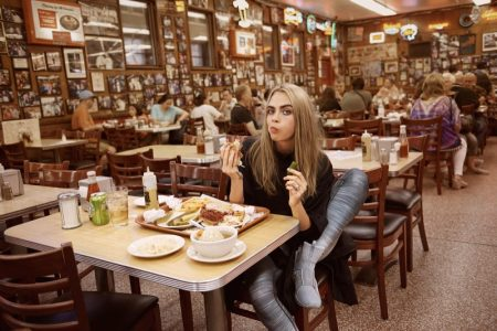 Cara Delevingne Flaunts Her Abs in PUMA Campaign