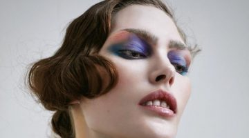 Catherine McNeil Wears Enchanting Eye Makeup Looks for Vogue Japan