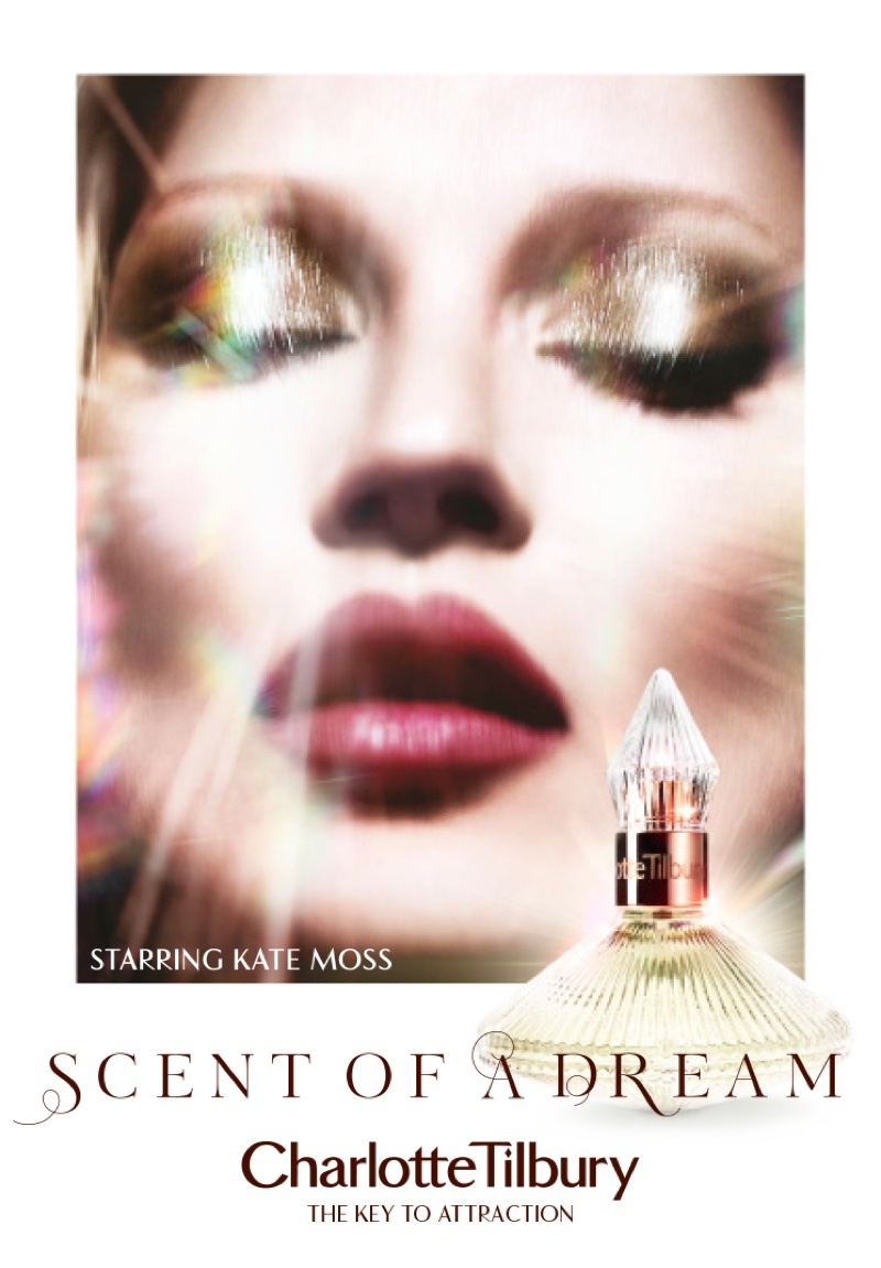 Kate Moss stars in Charlotte Tilbury Scent of a Dream fragrance campaign