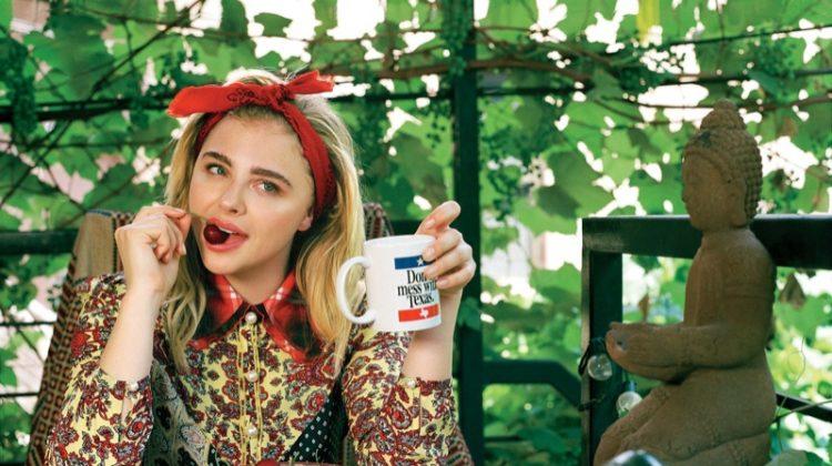 Chloe Grace Moretz Stars in Teen Vogue, Talks Brooklyn Beckham