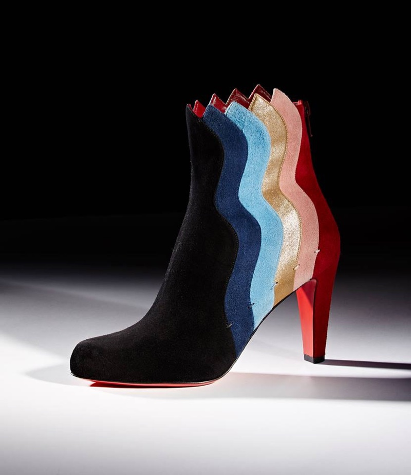 Christian Louboutin Wavy Ankle Boots