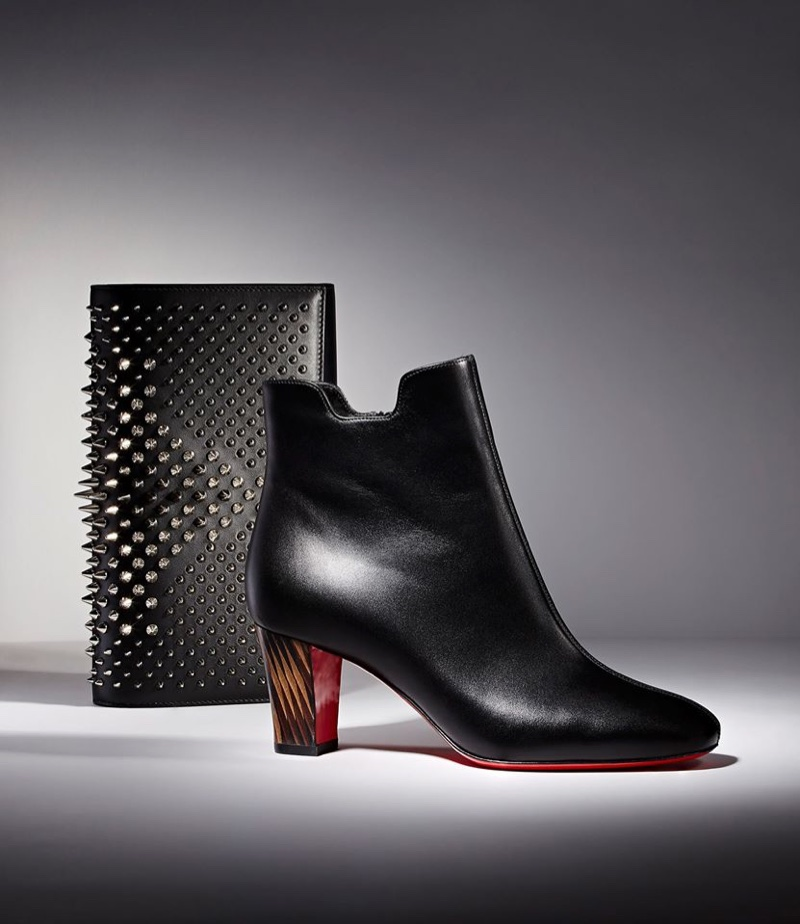 Christian Louboutin Paloma Clutch and Tiagada Ankle Boots