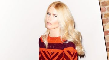 Claudia Schiffer's Sweaters Are Perfect for Those Dropping Temperatures