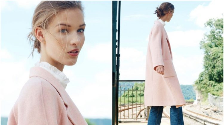 Discover Club Monaco's Ladylike Winter Coats