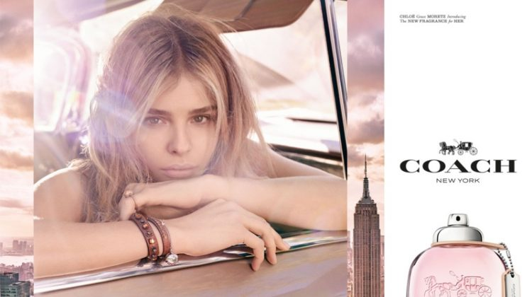 Chloe Grace Moretz Fronts Coach's New Fragrance Campaign