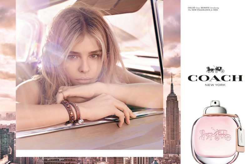 Coach Perfume Campaign W Chloe Grace Moretz Fashion Gone Rogue