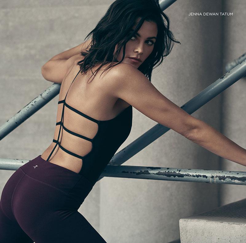 Jenna Dewan Tatum Channels Her Dancing Days in Danskin Ads