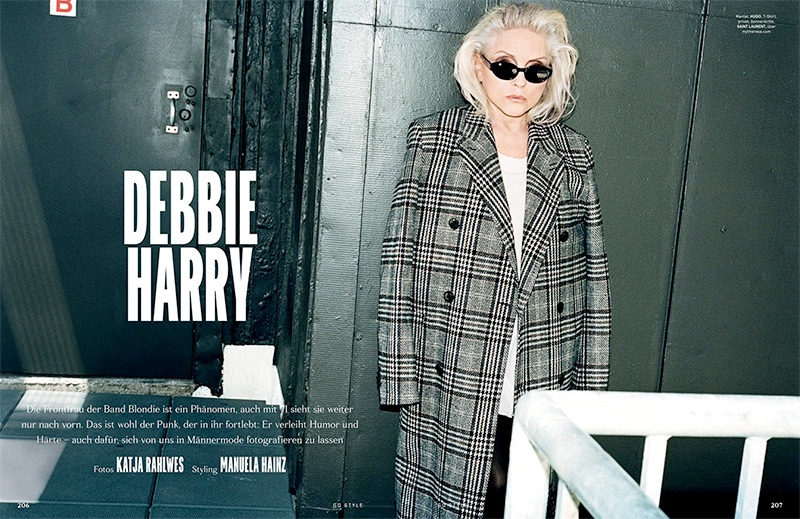 Debbie Harry stars in GQ Style Germany's fall-winter issue