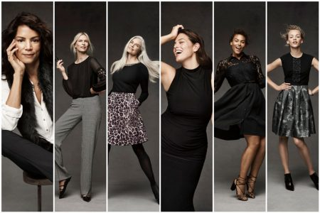 Ashley Graham, Veronica Webb Go Beyond Labels in Dressbarn's Fall Campaign