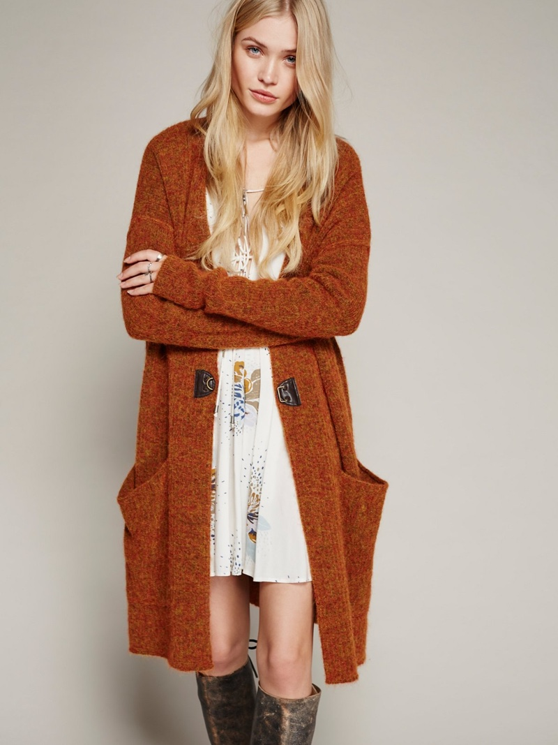 Long Cardigan Sweater Coat