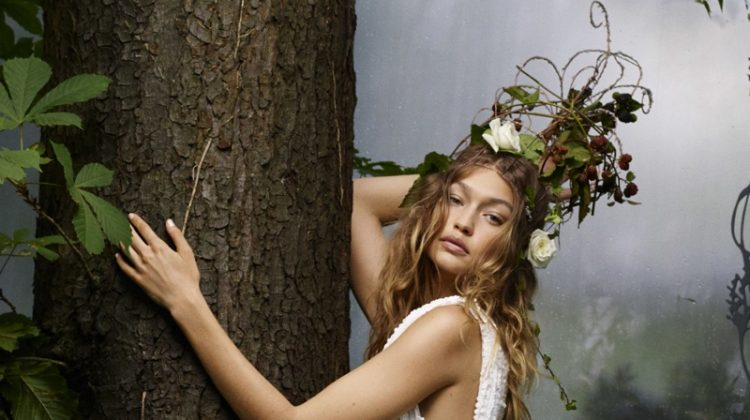 Gigi Hadid Enchants in Haute Couture Looks for BAZAAR Editorial