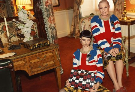 Gucci Goes Totally British with Cruise 2017 Ads Starring Vanessa Redgrave