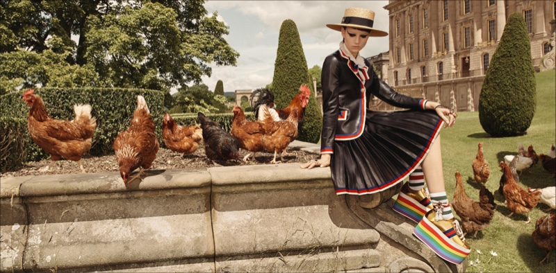 Gucci cruise 2017 advertising campaign