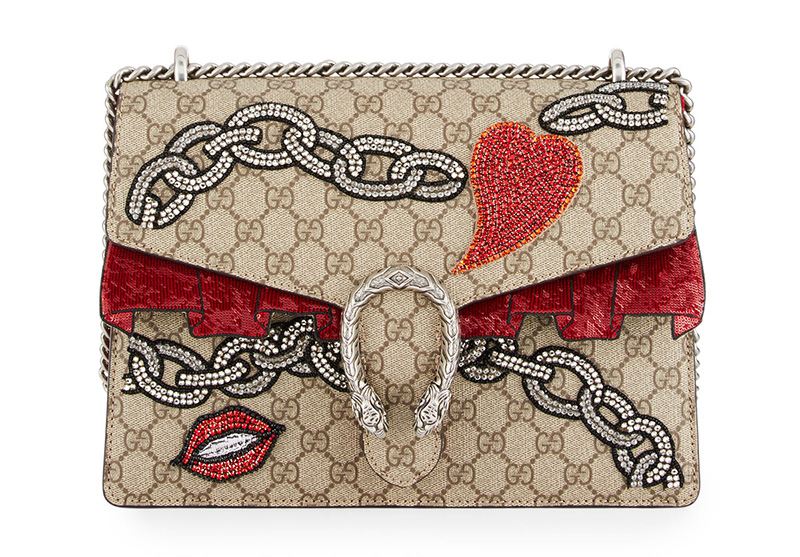 Gucci Dionysus GG Supreme Shoulder Bag
