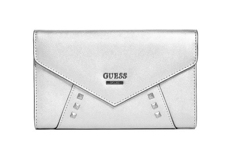 Guess Gia Metallic Clutch