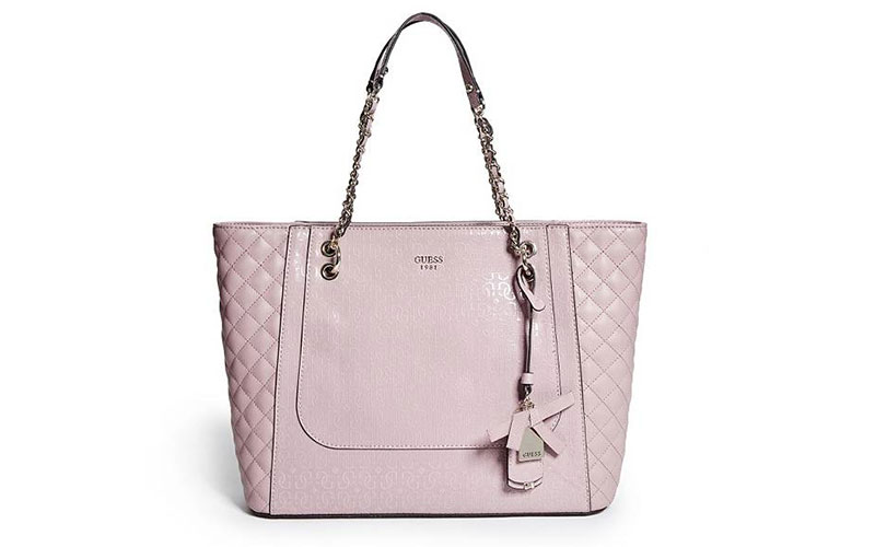 Guess Marian Logo Embossed Tote Bag