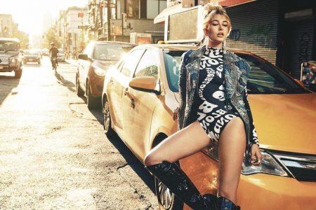 Hailey Baldwin Takes Over the Big Apple in Seeking Beauty NYC