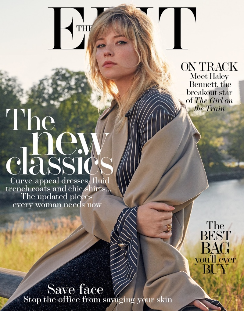 Haley Bennett on The Edit September 22, 2016 Cover