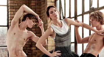 Hilary Rhoda Shows Her Moves for BAZAAR Singapore